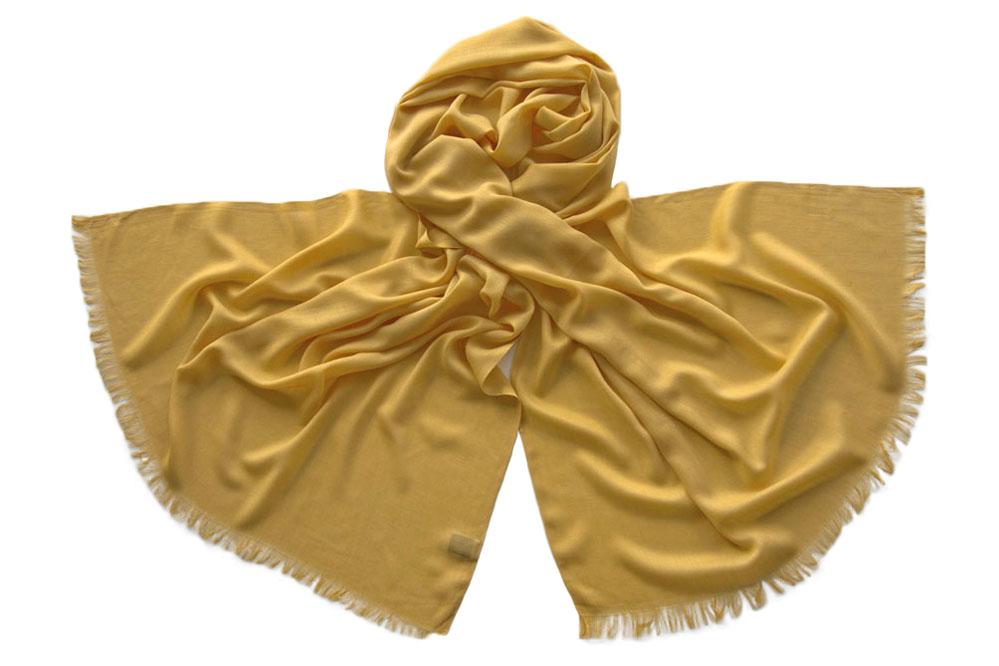 Палантин женский Tranini 1752 желтый