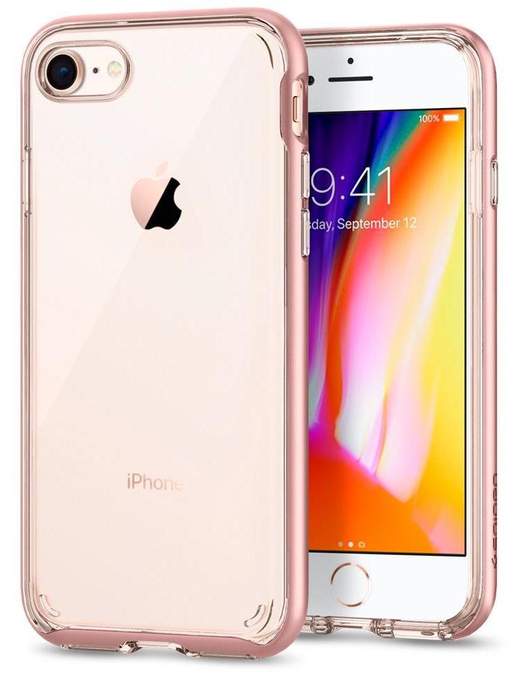 Чехол Spigen Neo Hybrid Crystal 2 для Apple iPhone 8/7 Blush Gold (054CS22569)