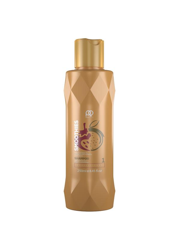 Шампунь Paul Oscar Smoothies Smooth #and# Silky Fruit Cleansing Shampoo,  step 1, 250 мл