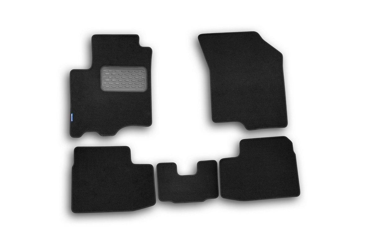 Коврики в салон Klever Standard для SUZUKI Swift 2005-2011, 4 шт. текстиль