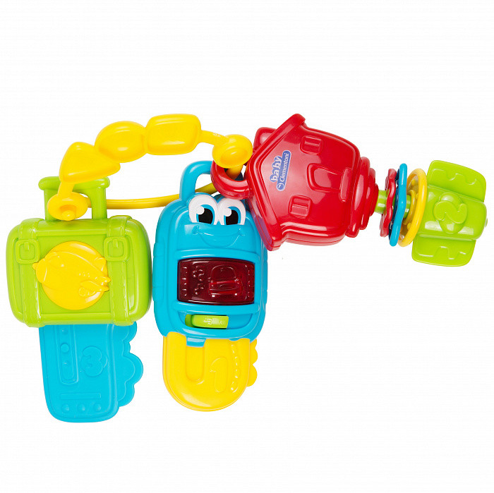 Купить Clementoni Музыкальные ключики - развивающая игрушка, Подвесные игрушки