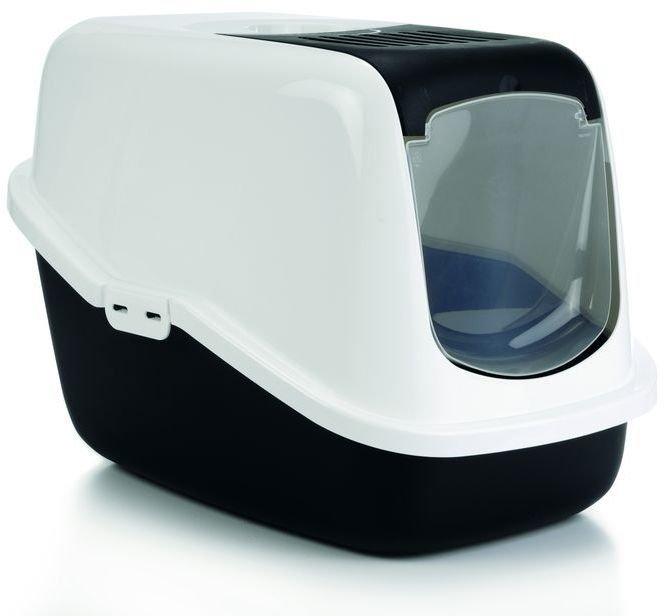 Туалет-домик Beeztees Nestor для кошек (Черный)