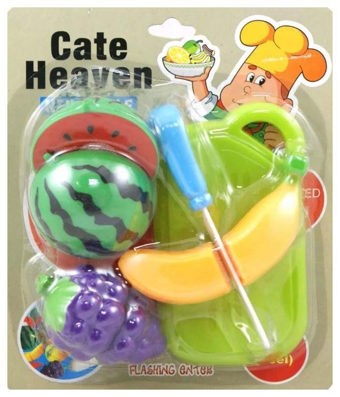 Купить Игровой набор игрушечной еды с ножом и доской Cate Heaven, NoBrand, Игрушечные продукты