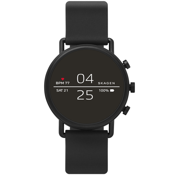 Смарт часы Skagen Falster 2 Black/Black (SKT5100)