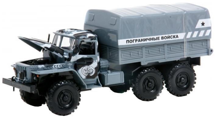 Купить Инерционный грузовик Пограничные войска (свет, звук). Play Smart, PLAYSMART, Военный транспорт