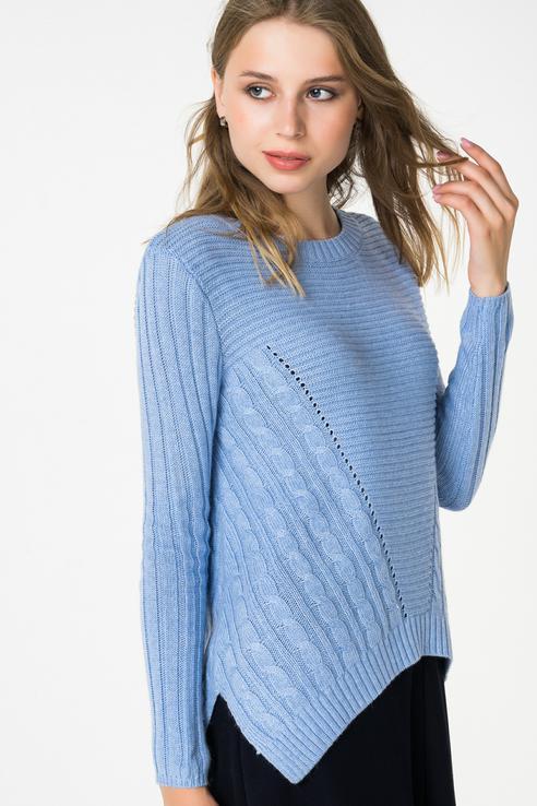 Джемпер женский Baon B138541 голубой L