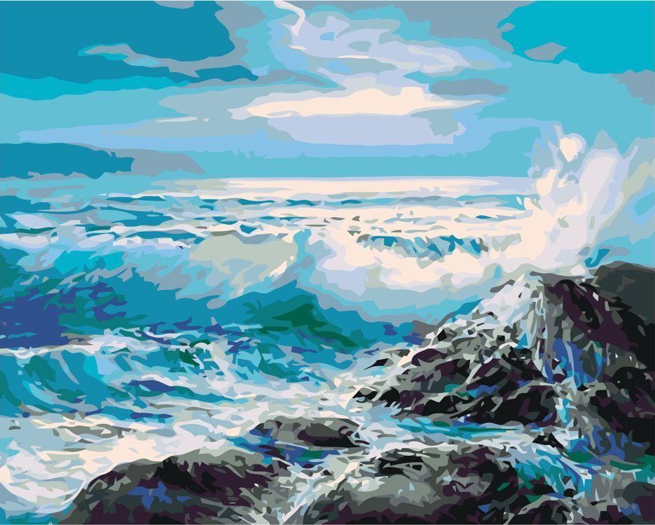 Картина по номерам Живопись по Номерам Море, 40x50
