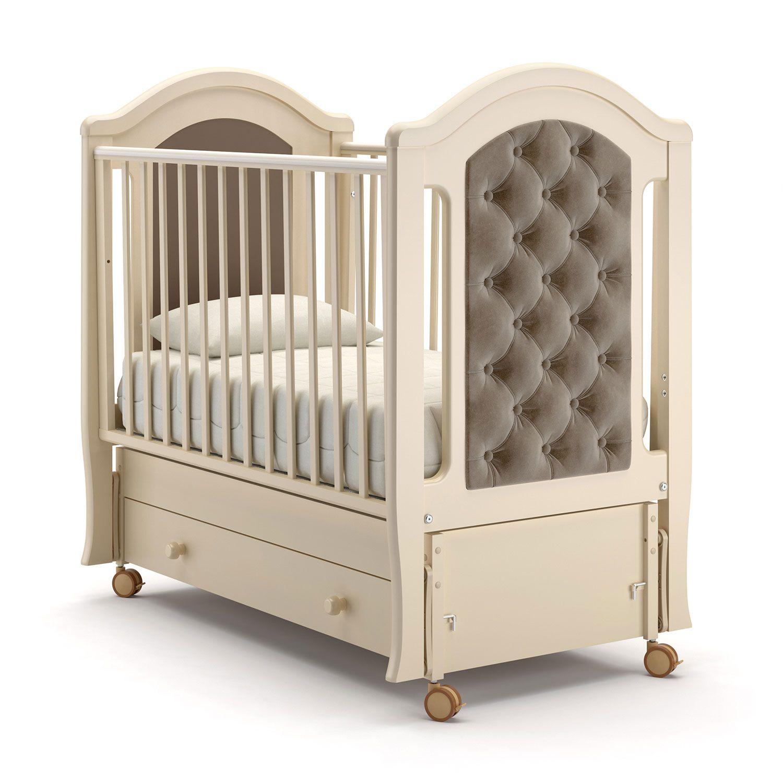 Купить Детская кровать Nuovita Grazia swing, слоновая кость, Классические кроватки