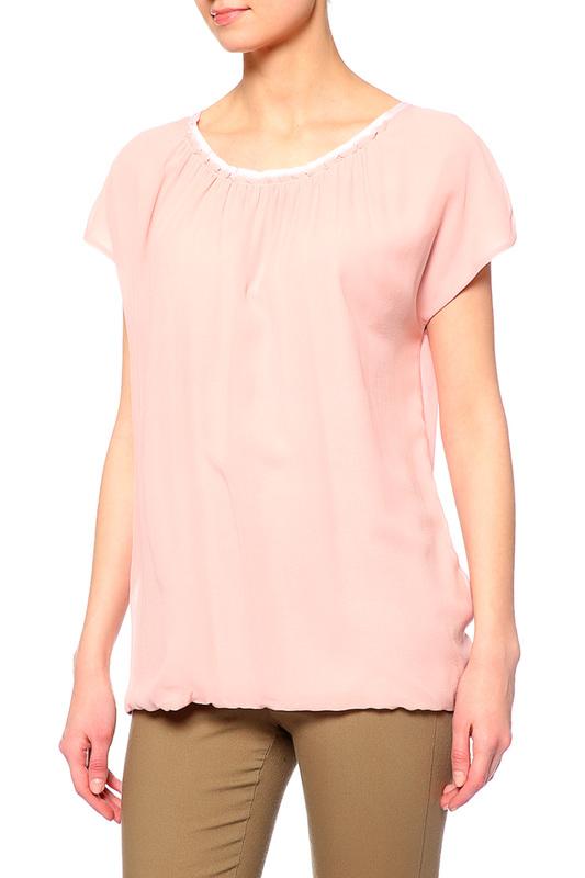 Блуза женская Rene Lezard T002S/2066/403 розовая 42 DE