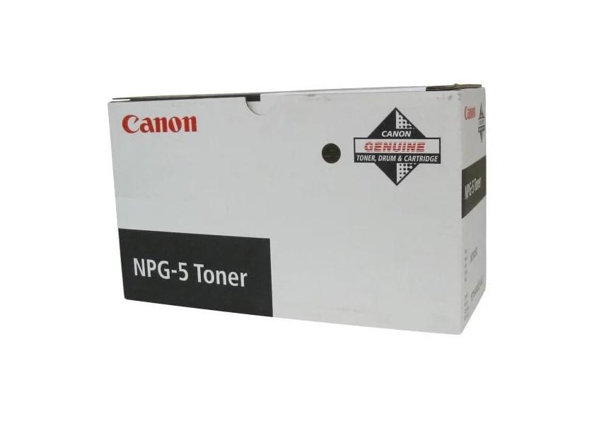 Тонер для лазерного принтера черный CANON NPG-5