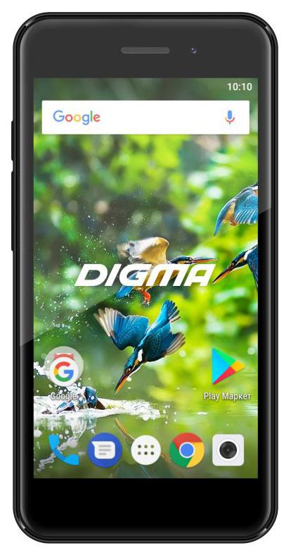 Смартфон Digma Linx A453 3G 8Gb Black фото