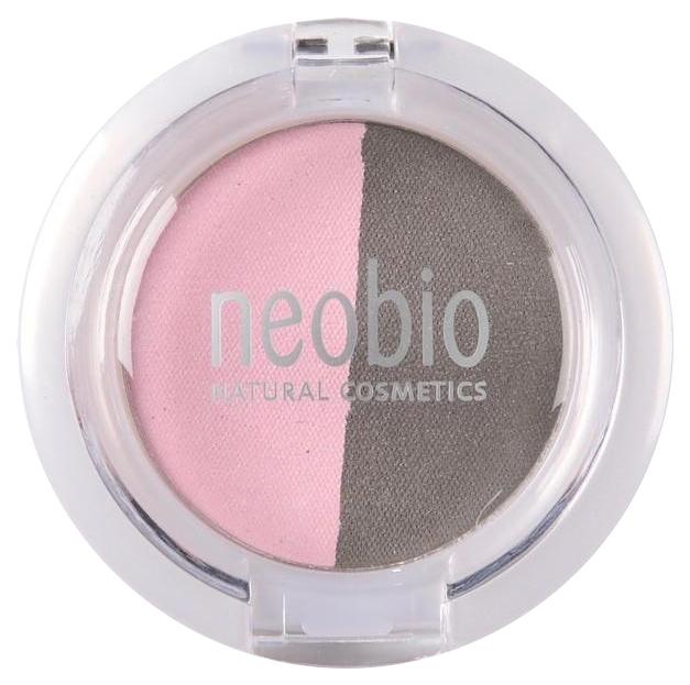 Тени для век NeoBio Eyeshadow Duo 01 Rose Diamond 2,5 г
