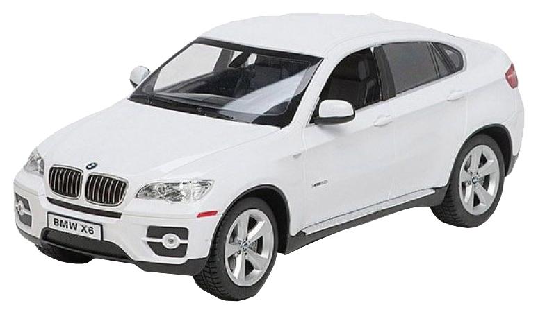 Радиоуправляемая машинка Rastar BMW X6 белая 31400W