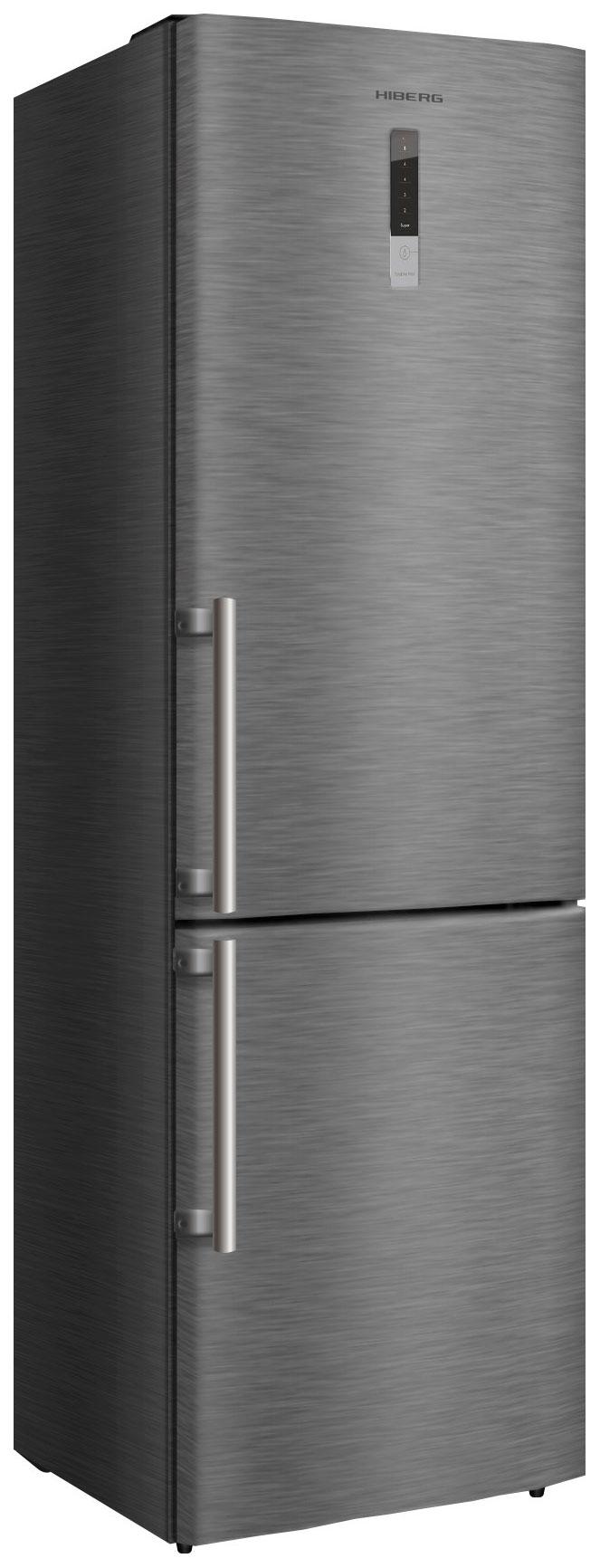 Холодильник Hiberg RFC 332DX NFX Grey