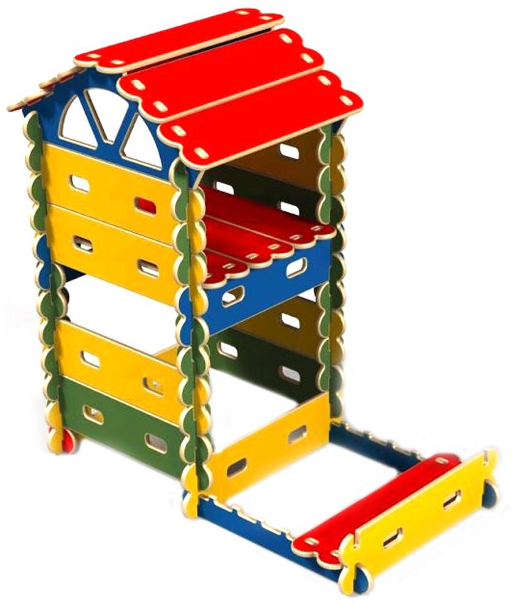 Купить Готовый комплект Домик с песочницей - игровой детский конcтруктор-транcформер Архитектор, Hotenok, Игровые домики