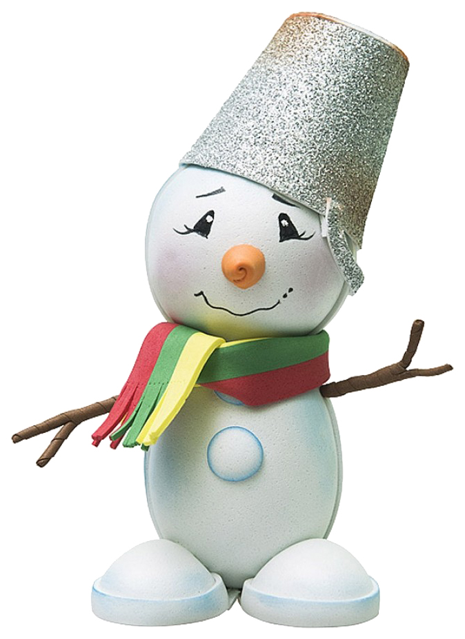 Набор для творчества Создай куклу Снеговик