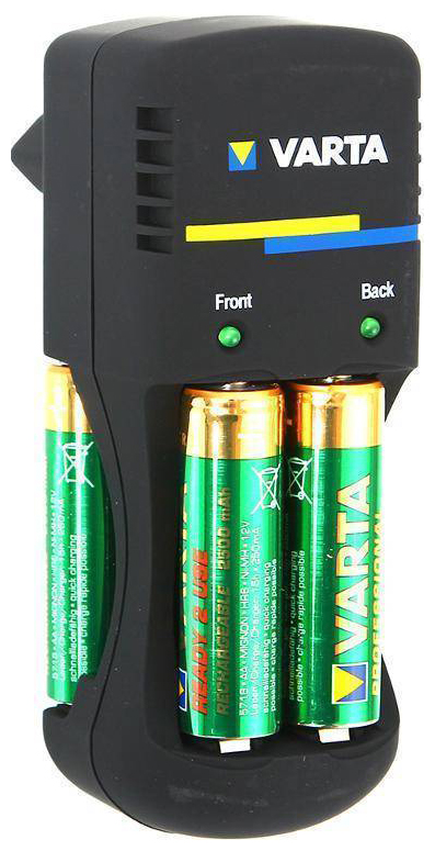 Зарядное устройство + аккумуляторы Varta Power