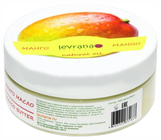 Купить Масло для тела Levrana Манго баттер 150 мл