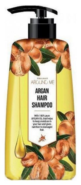 Шампунь Welcos Around Me Argan Hair Shampoo