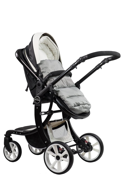 Купить 608B Aimile Original, Коляска-трансформер Farfello Aimile Original 608B бело-чёрный, Детские коляски трансформеры
