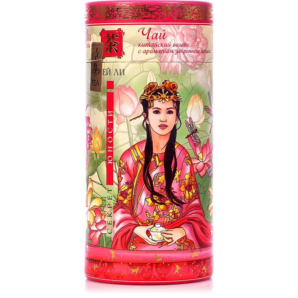 Чай зеленый Зеленая Панда cекрет юности байховый с ароматом тропических фруктов 100 г