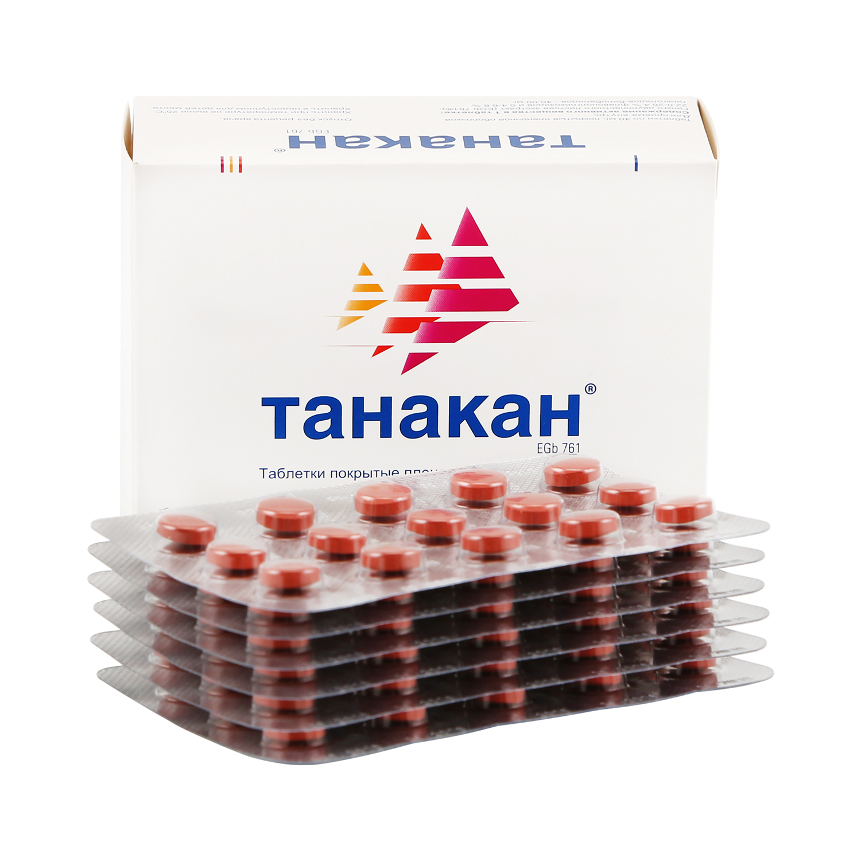 Танакан таблетки 40 мг 90 шт.