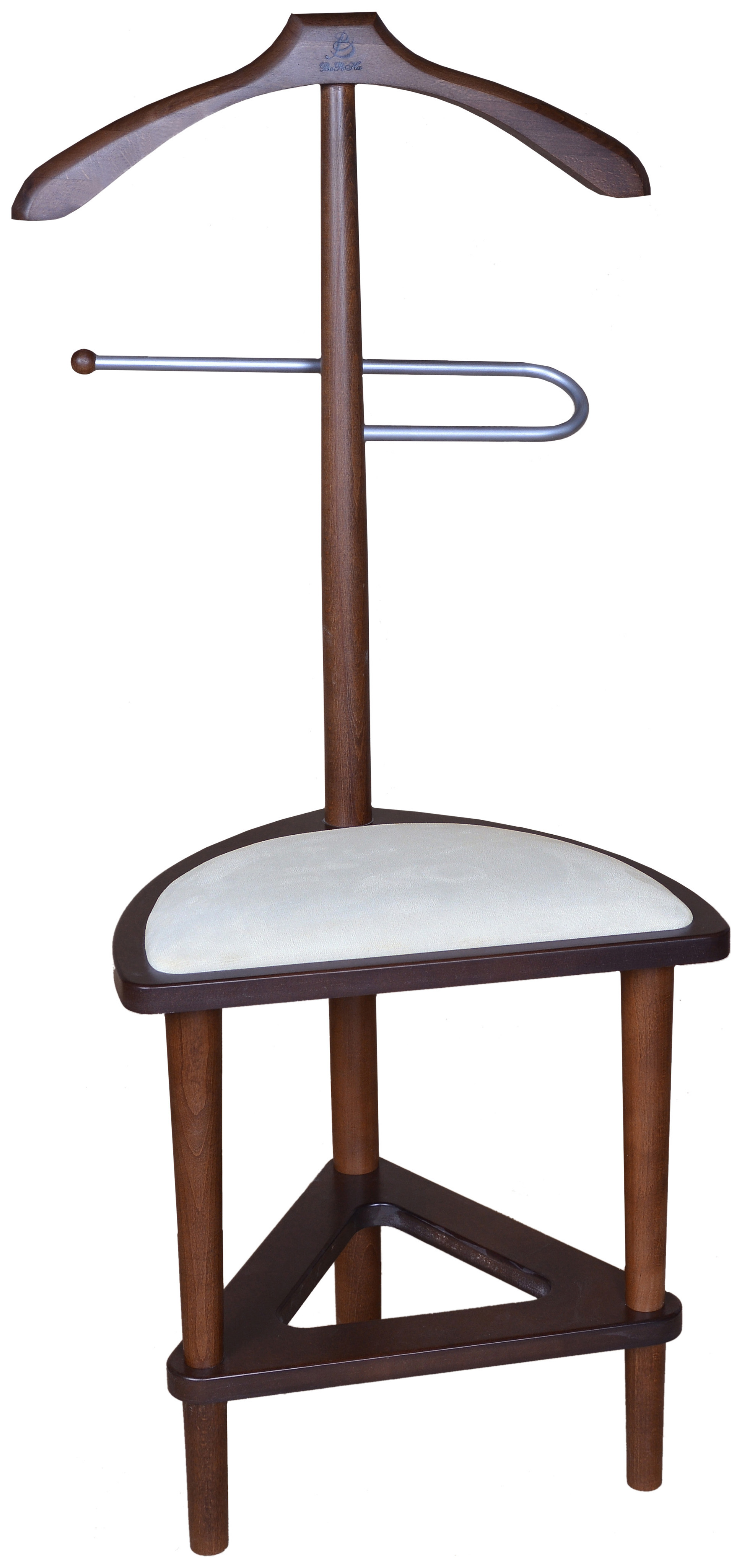 Вешалка Мебелик В 26Н Средне коричневый