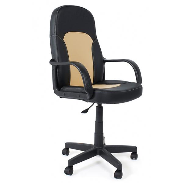 Офисное кресло TetChair Parma, бежевый/черный