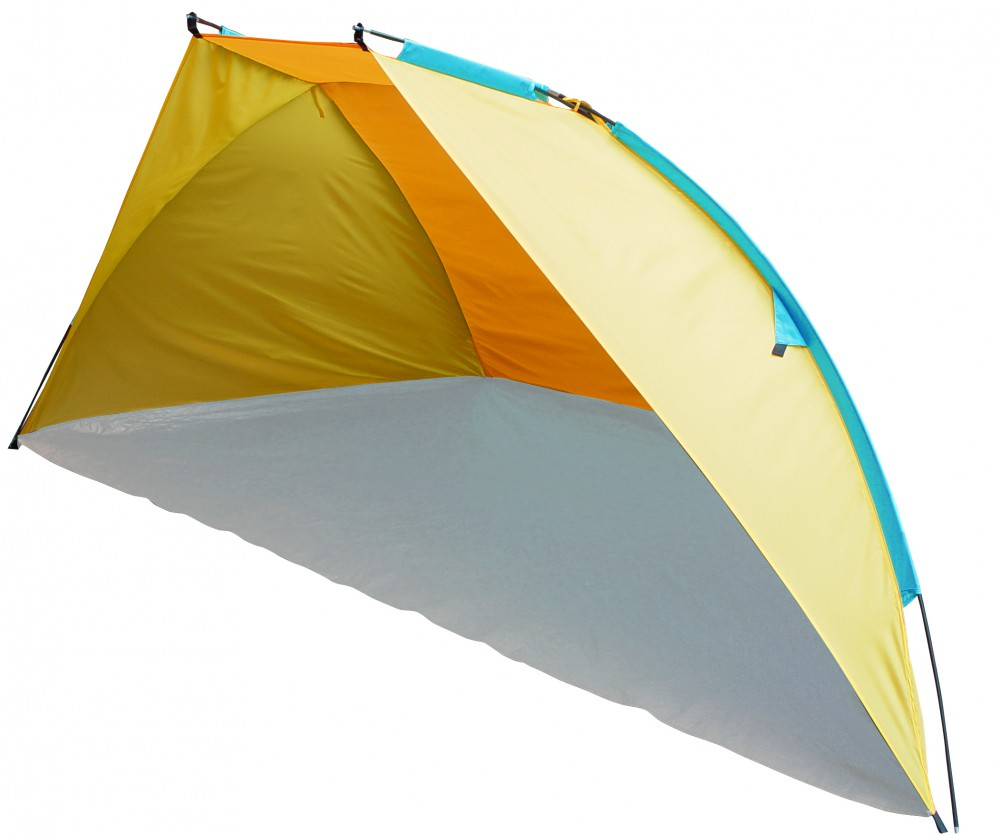 Туристический тент Trek Planet Caribbean Beach 70259 желтый/оранжевый