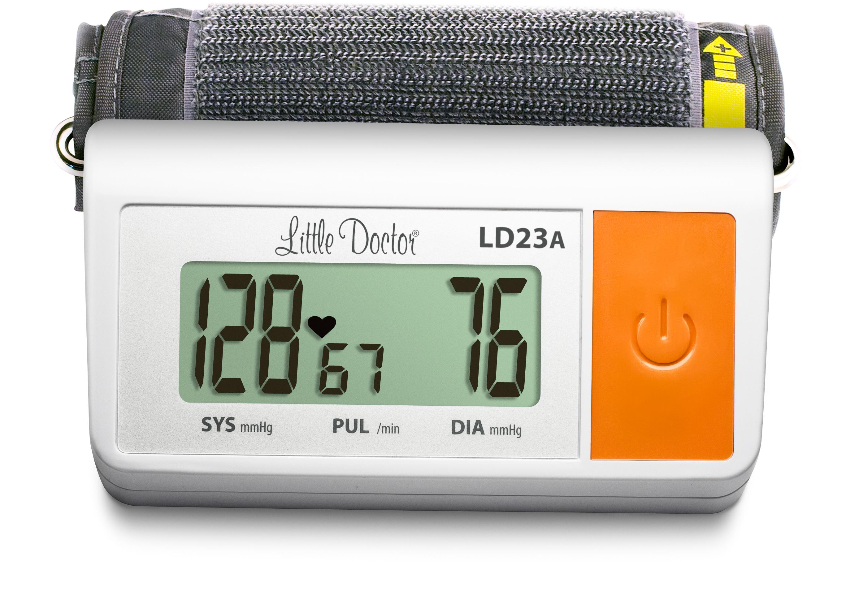 Тонометр Little Doctor Electronic LD23A автоматический с адаптером и увеличенной манжетой фото