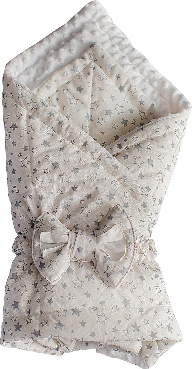 Конверт одеяло SlingMe Звездный десант белый