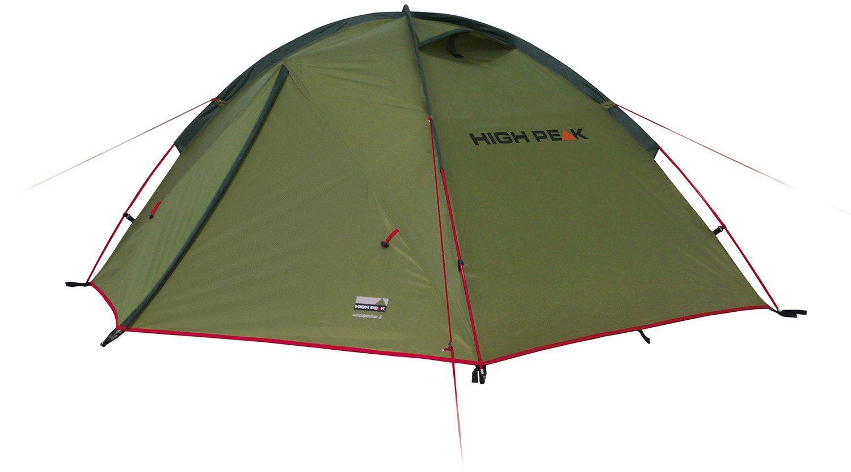 Палатка HIGH PEAK Woodpecker 3 Цвет зеленый