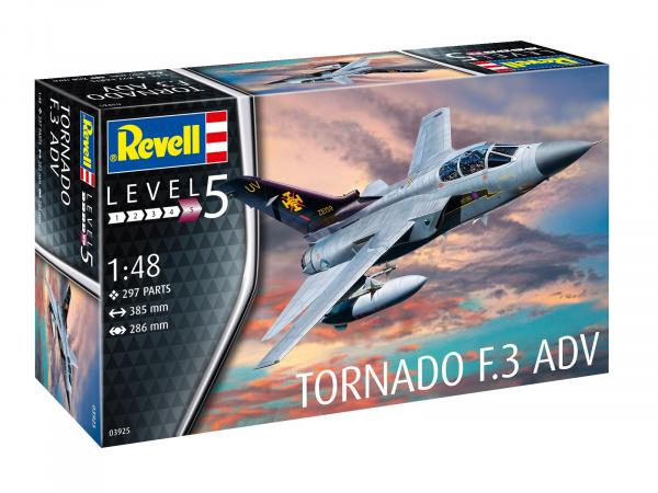 Сборная модель Revell всепогодный дальний перехватчик tornado f 3 adv