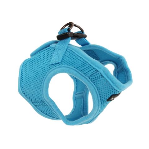 Шлейка для собак Puppia Soft Vest, голубая, размер XL