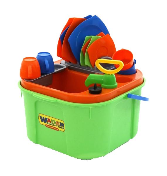 Купить Игрушечные кухни, Набор кухонной техники детский Wader Мини-посудомойка, Детская кухня и аксессуары
