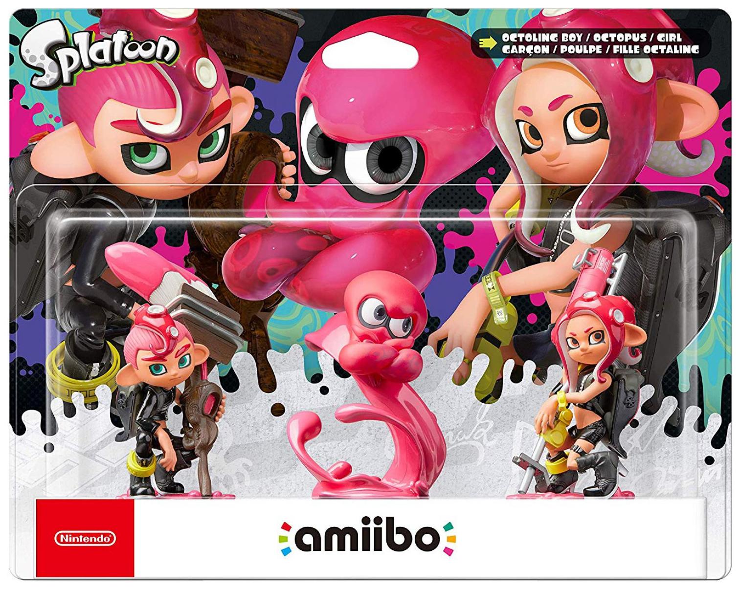 Игровой набор Nintendo Amiibo Splatoon