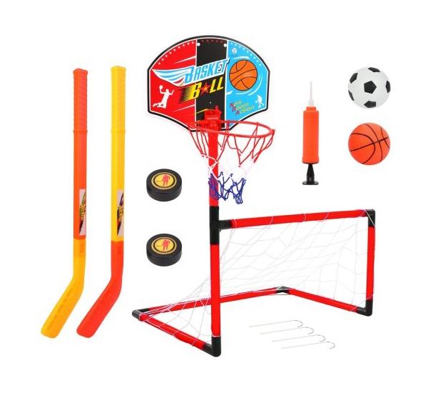 Купить Игра уличная Наша Игрушка Футбол Баскетбол Хоккей JY2266C1, Наша игрушка, Детские летние игры