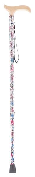 Купить Трость Армед YU821 с УПС алюминиевый с цветами светлое дерево, Armed