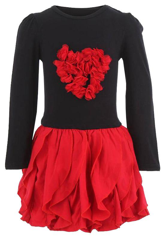 Купить Платье Nano F 1304-03, размер 92 см, цвет черный, Детские платья и сарафаны