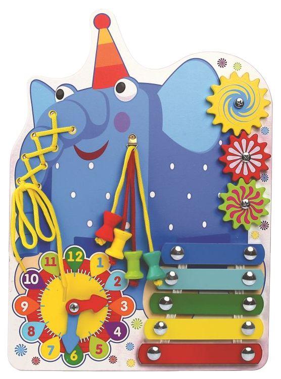 Развивающая игрушка Деревяшки Слон Ду Ду