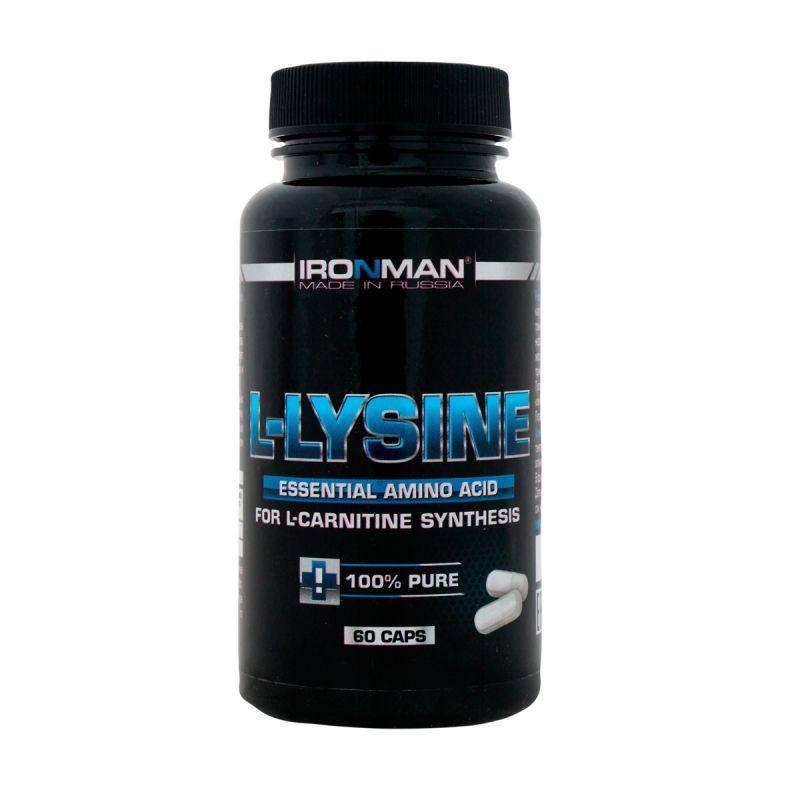 Ironman L Lysine 60 капсул без вкуса
