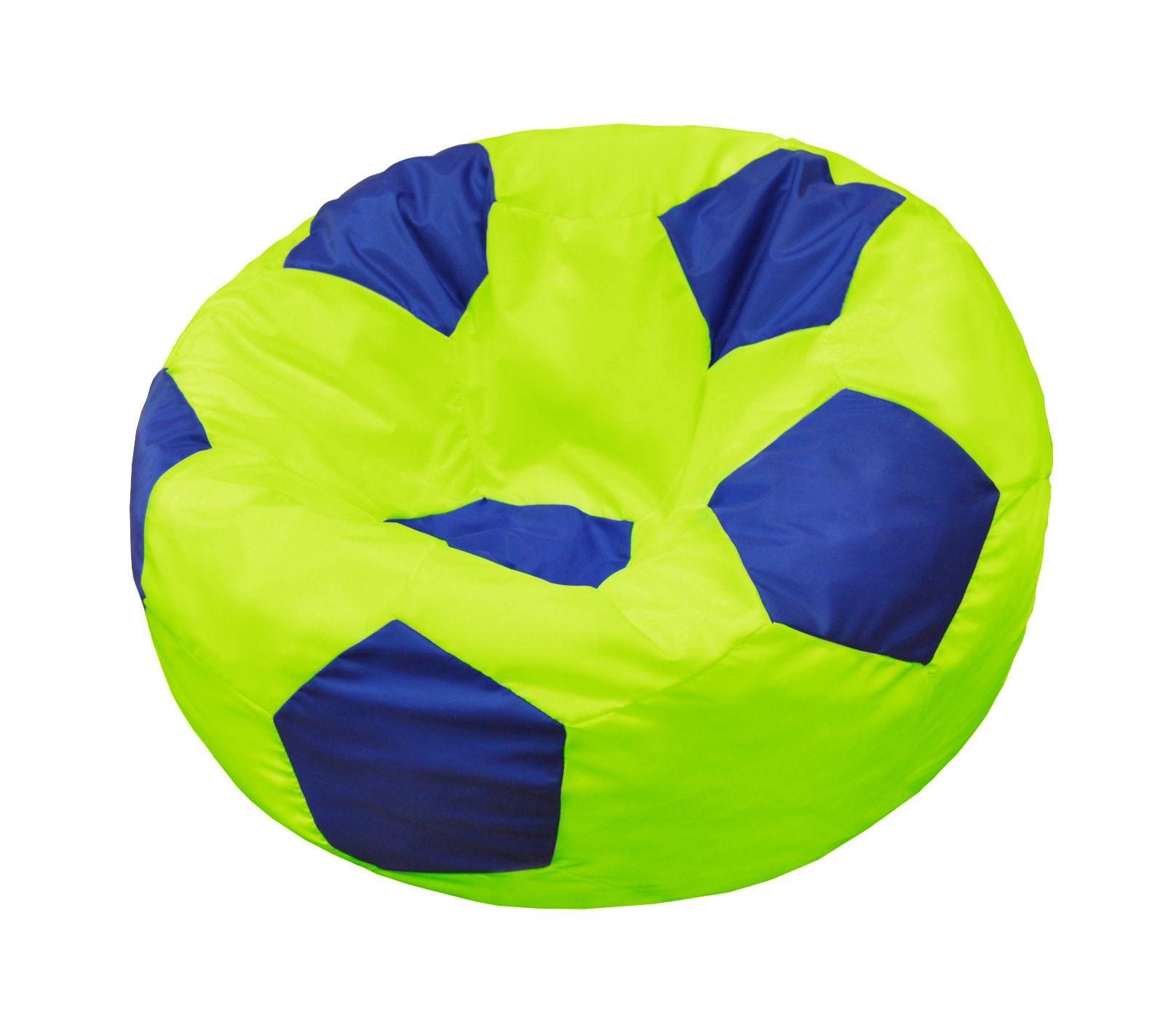 Кресло-мяч Pazitif Мяч Пазитифчик, размер XL, оксфорд, лимонно-синий фото