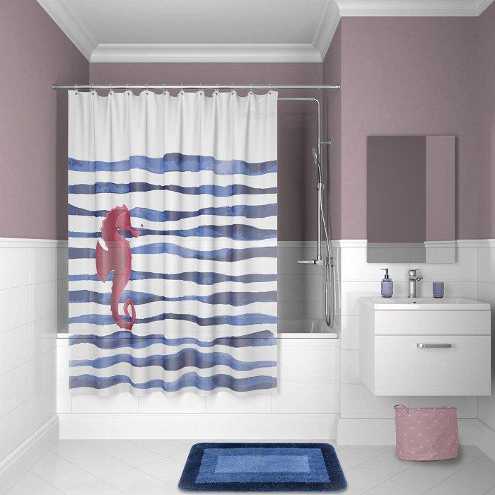 Штора для ванной комнаты IDDIS Promo P11PV11i11