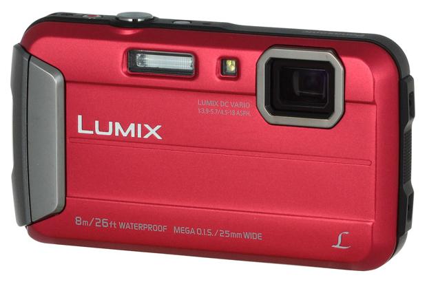Фотоаппарат цифровой компактный Panasonic Lumix DMC-FT30 Red фото