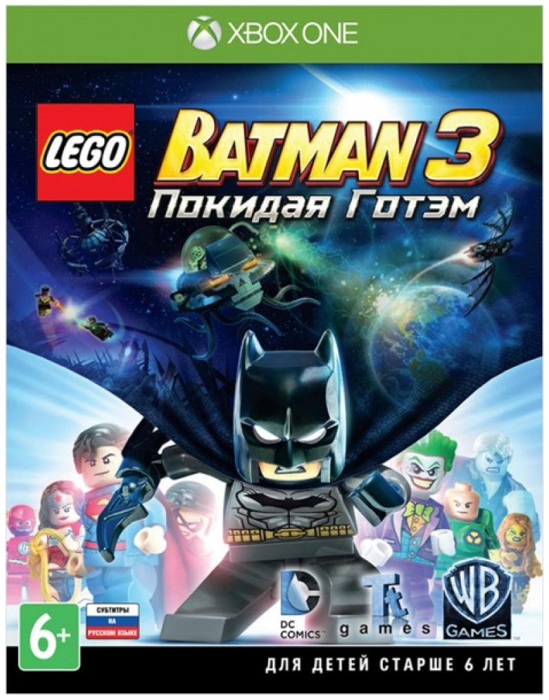 Игра LEGO Batman 3. Покидая Готэм
