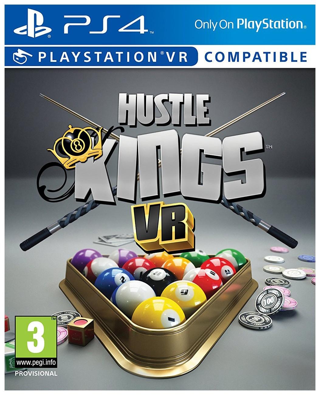 Игра Hustle Kings (поддержка VR) для PlayStation