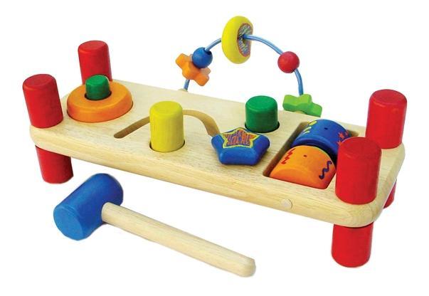Скамейка для развития сенсорики I'm Toy
