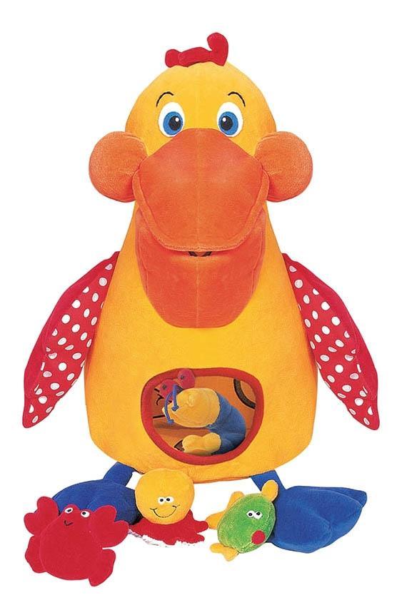 Купить Развивающая игрушка K's Kids Голодный пеликан с игрушками,