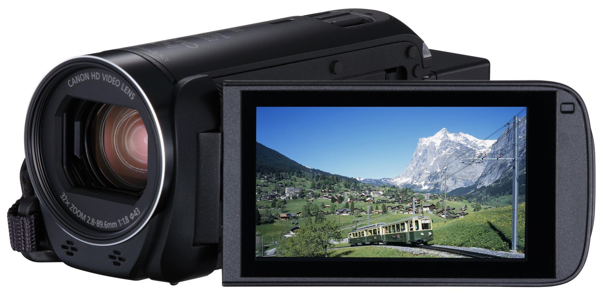 Видеокамера цифровая Canon LEGRIA HF R86 Black