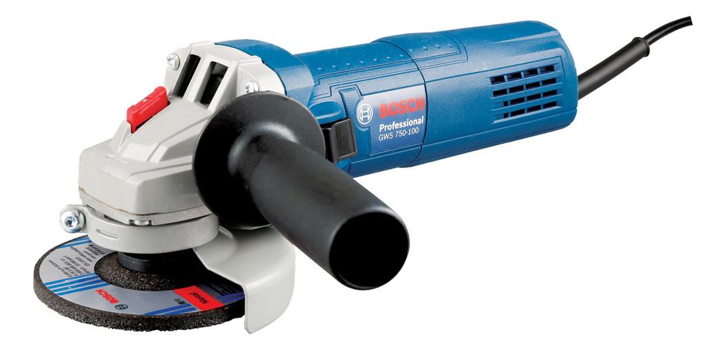 Сетевая угловая шлифовальная машина Bosch GWS 750-115 06013940R0
